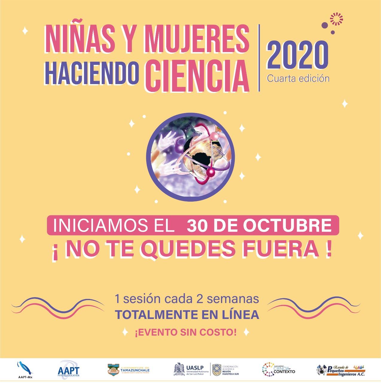 Niñas y mujeres haciendo Ciencia Internacional
